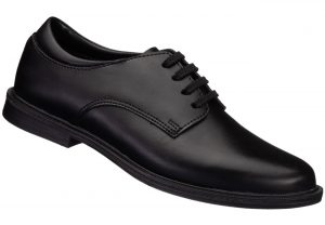 Black Unisex School Shoe