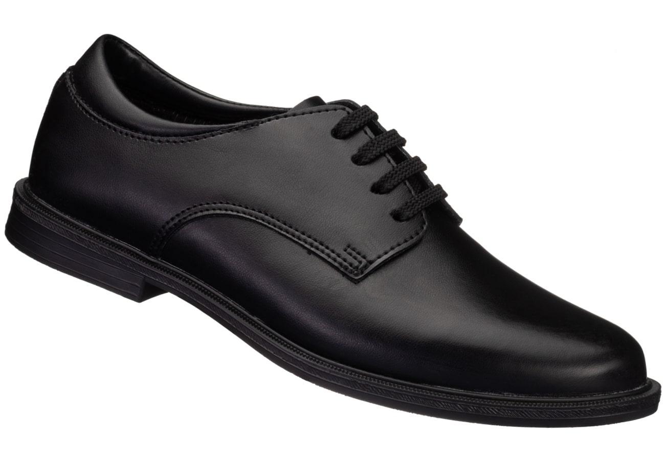 Black Unisex School Shoe – The Little