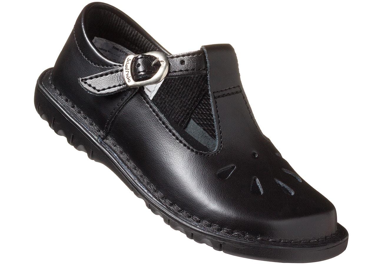 Black T-Bar School Shoe – The Little