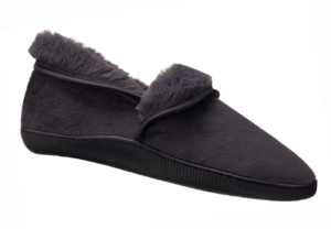 Charcoal four way slipper for ladies