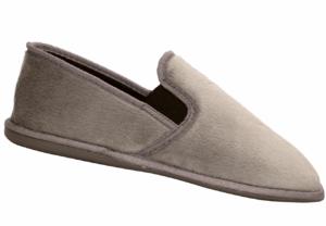 Men's Gusset Slipper Grey