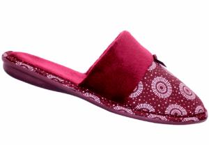 Ladies African Print Shwe Shwe Slippers