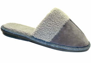 Men's Synthetic Suede Slippers